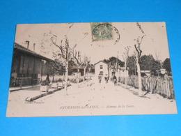 33 ) Andernos-les-bains - Avenue De La Gare  : Année 1907 : EDIT : Panajou - Andernos-les-Bains