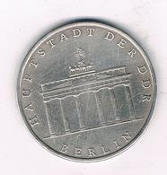 5 MARK 1971 A  DDR  DUITSLAND /1445/ - [ 6] 1949-1990 : RDA - Rép. Démo. Allemande