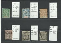 Obock, Lot D'anciens  Neufs Et Oblitérés, Cote YT:157€ - Unused Stamps