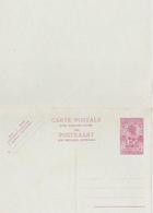 Entier Postal Stationery - Ruanda-Urundi - 2.40fr - Double Avec Réponse Payée - Entiers Postaux