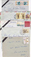 Portugal - Colónias   12 Envelopes  Circulados Com Vários Selos E Carimbos - Sellos