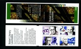IRELAND/EIRE - 2004  NOBEL LITERARY LAUREATES  BOOKLET   MINT NH - Libretti