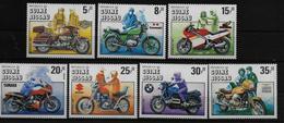 GUINEE  BISSAU   N°   337/43   * *  ( Cote 12e ) Motos - Motos