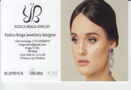 Romania, Visiting Card, Carte De Visite, Jewellery Shop Designer - Visiting Cards