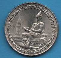 THAILAND 10 BAHT 2526 (1983) Alphabet Thai Y# 165 - Thaïlande
