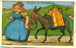 Bonjour De Blankenberge : Systeemkaart - Carte à Systèmes - Met 10 Kleine Fotootjes Erin - Blankenberge