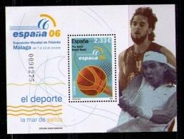 ESPAÑA 2006 - EXPOSICION MUNDIAL DE FILATELIA - EDIFIL Nº 4273 - DEPORTES - SPORTS - 1931-Hoy: 2ª República - ... Juan Carlos I