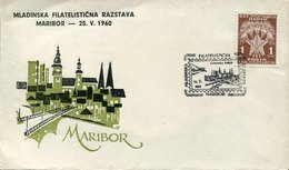 42901 Jugoslavia, Special Postmark 1960 Maribor Mladinska Filatelisticna Razstava - 1945-1992 République Fédérative Populaire De Yougoslavie
