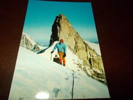 B716   Monte Bianco Aosta Sciatori Non Viaggiata - Italia