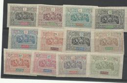 Obock,1894, 12 Valeurs Neuves*,   Cote YT:157€25 - Unused Stamps