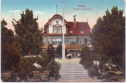 Seltene ALTE  AK   STETTIN - Szczecin / Pommern / Polen    - Forsthaus Eckerberg - Ca. 1920 Beschriftet - Pommern