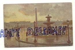 Oilette. Béraud. Place De La Concorde. Carte Postale TUCK - Beraud