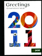 IRELAND/EIRE - 2011  GREETINGS  BOOKLET   MINT NH - Libretti
