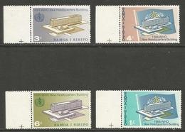 "Samoa 1966 - ""WHO Inauguration"" - MNH ** Complete Set - Samoa"