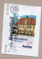 Privatpost - RegioMail -  Rathaus Heilbronn / Grossbrief 137 - Obst & Früchte