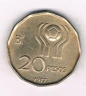 20 PESOS 1977 ARGENTINIE /1453/ - Argentine