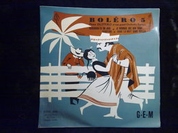 Deno Destero: Boléro 5: Reviendras-tu Un Jour.../ 45t GEM, EGEX 4592 - Vinyl Records