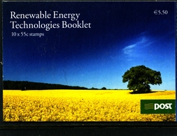 IRELAND/EIRE - 2011  RENEWABLE ENERGY  BOOKLET   MINT NH - Libretti