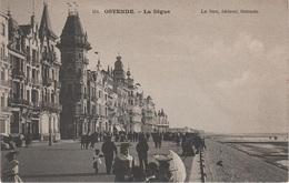 CPA - AK Oostende Ostende Digue Est Hotel Royal Kursaal A Brugge Brügge Blankenberge Heist Mariakerke Belgien Belgique - Oostende
