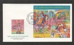 NAZIONI UNITE 19 7 1996 FDC OLIMPIADI - Estate 1996: Atlanta