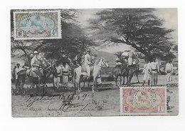 CPA Ethiopie - Abyssinie - HARRAR ( Harar ) - Une Caravane Partant Pour Addis Abbeba 1913 Port Simple Gratuit - Ethiopie