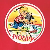 1 Autocollant PIOUPY LE REPORTER Automobiles - Autocollants