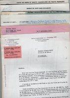 VP14.598 - 1971 - Lot De Documents Concernant La Vente D'une Maison Située à CHELLES 3 Rue Macon - Old Paper
