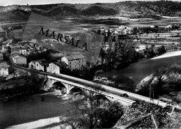 CPSM Vinon Sur Verdon   Pont Du Verdon  Et Vue Sur Le Hameau - France