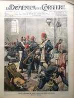 La Domenica Del Corriere 27 Settembre 1903 Rivolta Macedonia Carducci A Madesimo - Bücher, Zeitschriften, Comics