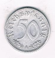 50  PFENNIG 1941 A  DUITSLAND /1458/ - [ 4] 1933-1945 : Troisième Reich