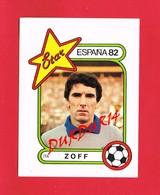 1 Autocollant FOOTBALL ZOFF ESPANA 1982 - Autocollants