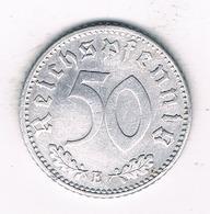 50  PFENNIG 1942 E   DUITSLAND /1459/ - [ 4] 1933-1945 : Troisième Reich