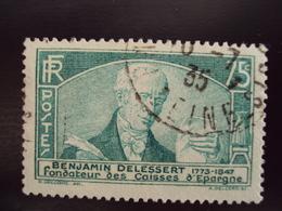 """A Partir De 1920 - Timbre Oblitéré N°  303  """"  Delessert      """"     1.20      Photo   5 - Oblitérés"""