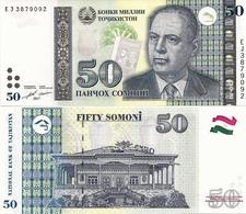 TAJIKISTAN       50 Somoni       P-26b       2017       UNC - Tagikistan