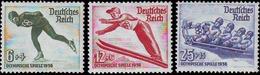 Alemania - JJ.O. Garmish Panteerkirchen 1936 - 559/561 - Nuevo - Winter 1936: Garmisch-Partenkirchen