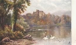 """""""F.W. Hayes..Glengary Castle. Loch Oich"""" Tuck Oiette Scottish Castles Ser. PC # 7181 - Tuck, Raphael"""