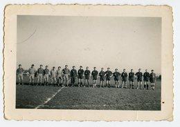 Equipe De Football Alignement Ligne Linea Sportif Footballeur Abstract Groupe Homme Man Men Team Line - Sports