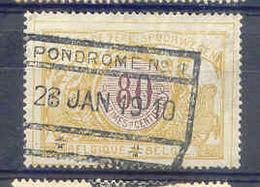 A978 -België Spoorweg Chemin De Fer  Stempel PONDROME N° 1 - 1895-1913