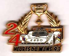Pin's  24 Heures Du Mans 93 Peugeot Zamac Locomobile - F1
