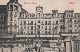 CPA - AK Oostende Ostende Hotel De L' Océan Digue Plage A Brugge Brügge Blankenberge Heist Mariakerke Belgien Belgique - Oostende