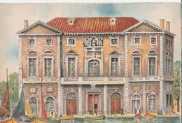BARRE & DAYEZ: MARSEILLE (13). L'Hôtel De Ville. Bateaux: Petits Voiliers. Illustrateur Barday N° 2127 E - Canebière, Centre Ville