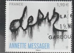 FRANCE 2018 ANNETTE MESSAGER OBLITERE -  YT 5202 - France