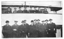 WW1 14-18 NORVEGE  Skieurs Norvégiens Partis Pour La Croix Rouge  Dans Les Vosges  Comme Porteurs De Blessés 1916 - 1914-18