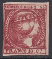 1854 Edifil Nº 2  (*) - Filipinas
