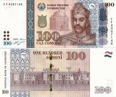 TAJIKISTAN       100 Somoni       P-27b       2017       UNC - Tajikistan
