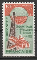 POLYNESIE - Poste Aérienne - PA N° 16 ** (1966) - Poste Aérienne
