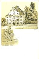 Allemagne - Bade Würtemberg - Salem - Unteres Thors - Shizze Aus D. Kirche - Verlag Sorg Salem - 6078 - Salem