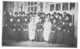 WW1 14-18 Japon Hôpital Crée à Paris Par La Croix Rouge Japonaise 1915 - 1914-18