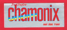 1 Autocollant CHAMONIX MONT BLANC - Autocollants