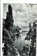 CPA - Carte Postale -Suisse - Vaud--Veytaux- Château De Chiillon -1955 -VM687 - VD Vaud
